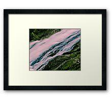 Douglas Falls Closeup Framed Print