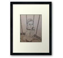 Brave Kirk Framed Print