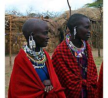 Massai Wives of the Serengeti Photographic Print