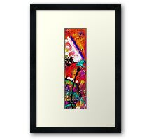 Sheer Excitement Framed Print