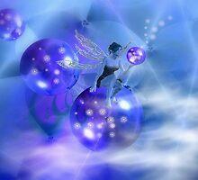 Blue Fairy by Greta  McLaughlin