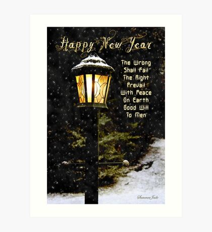 My Wish ~ For the New Year Art Print