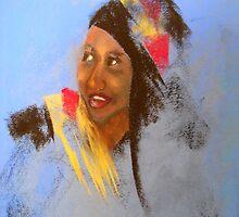 pastel impressions of Noura by Elena Malec