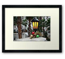 """"""" One light for you """" Framed Print"""