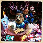 A Moose Ready With Santa's Cookies! by daphsam