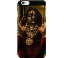 Chief Keef Holding Chains iPhone Case/Skin