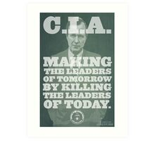 C.I.A. Leaders of Tomorrow Art Print