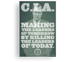 C.I.A. Leaders of Tomorrow Canvas Print