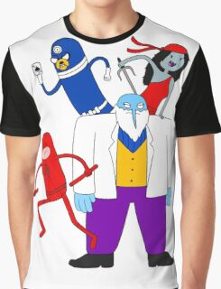 Finn the Human Without Fear Version 2 Graphic T-Shirt