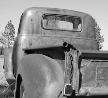 Rusty old Chevy by GWGantt