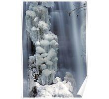 Moss Glen Falls, Stowe - Icy Column Poster