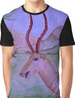 """Antelope"" Graphic T-Shirt"