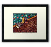The Cheese Thief  Framed Print