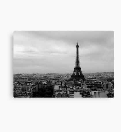 France - Paris - Eiffel Tower Canvas Print
