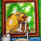 Walrus with Good Hygiene by lulunjay