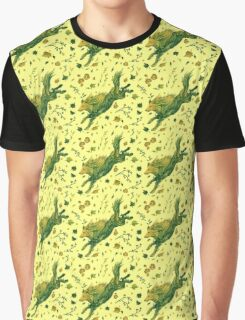 Fern Hound Pattern Graphic T-Shirt