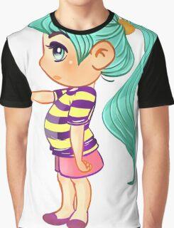 Cute Baby Girl Graphic T-Shirt