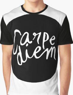 Carpe Diem - Seize the Day Graphic T-Shirt