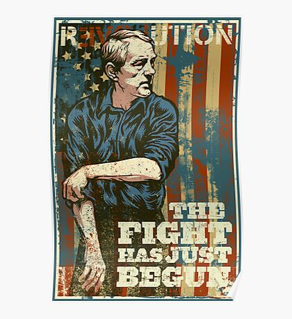 The Fight Has Just Begun Poster