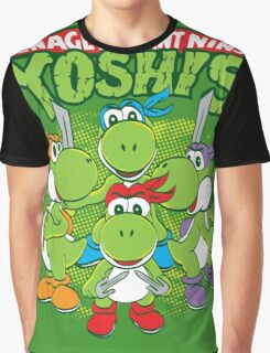 Teenage Mutant Ninja Yoshis Graphic T-Shirt