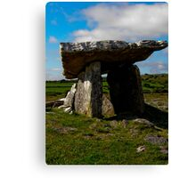 Portal Tomb Canvas Print