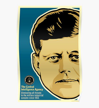 JFK CIA Poster