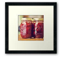 jam. Framed Print