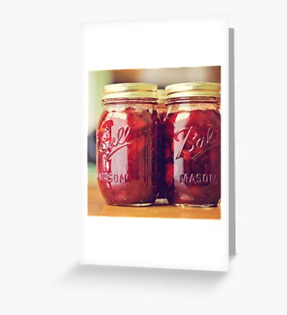jam. Greeting Card