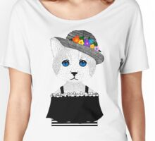 The Staring Cat & The Straw Hat Women's Relaxed Fit T-Shirt