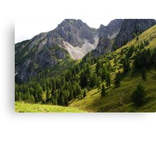 Austria Mountains Canvas Print