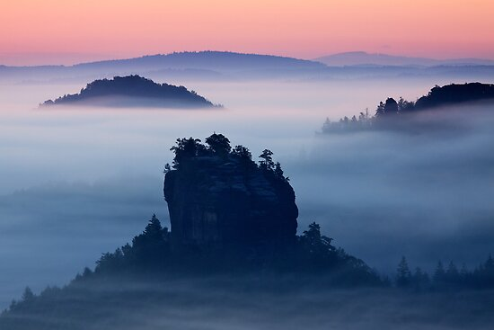 Islands In the Mist by Martin Rak