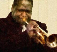 Jazz Trumpeter by Susan Savad