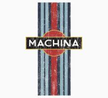 Machina Attire - 'Shaken, Not Stirred' Baby Tee