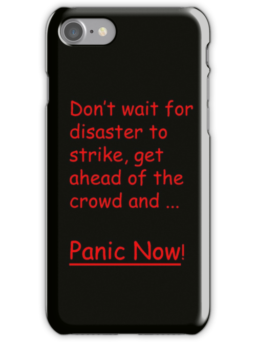Panic Now! by SusanAdey