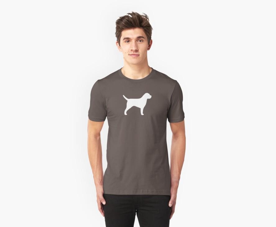 Border Terrier Silhouette(s) by Jenn Inashvili