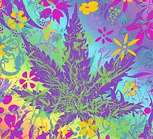Pot Leaf and Color by TinaGraphics