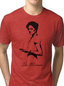 The Woman Tri-blend T-Shirt