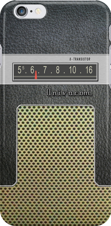 Transistor Radio - 60's Galaxy Model by ubiquitoid