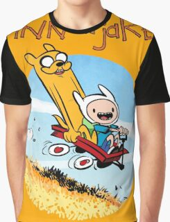 Finn and Jake Graphic T-Shirt
