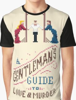 A Gentleman's Guide to Love and Murder Graphic T-Shirt