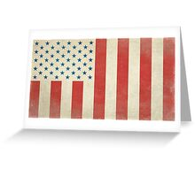 American Civilian Flag of Peace Greeting Card