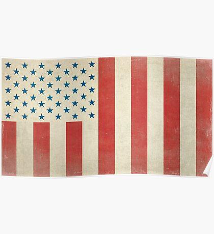 American Civilian Flag of Peace Poster