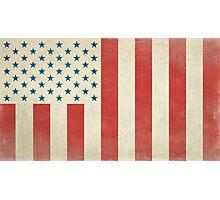 American Civilian Flag of Peace Photographic Print