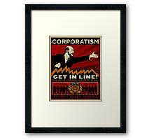 Corporatism Framed Print