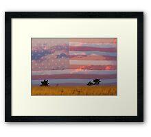 Amber Waves of Grain Framed Print