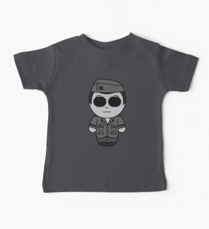 George (They Hide Among Us!) - Black Box Films: BOXIES Baby Tee