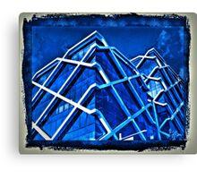 Blue Print,  Office Building Sydney  Canvas Print