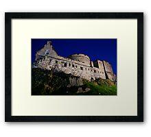 Castle Rock Framed Print