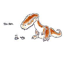 Tea Rex by ILOVEDINOSAURS