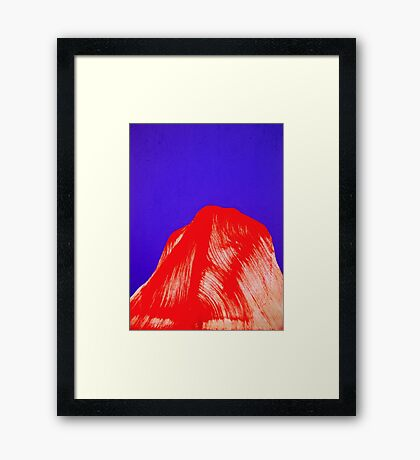North of the Knee Framed Print